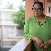 AUGUST 27, 2018--CATA&ntilde;O---PUERTO RICO--<br /> Maria Torres Ramos, director of the APJ (Association Pro Juventud y Comunidad de Barrio Palmas) in Cata&ntilde;o, Puerto Rico. The APJ is is credited with helping youth and their families <br /> (Photo by Angel Valentin/Freelance)