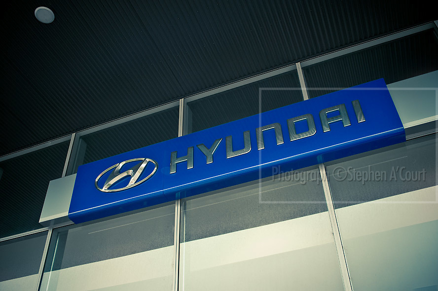 Hyundai light trucks and heavy forklifts, for the Central Forklift Group Ltd, in Avalon, Wellington, NZ.