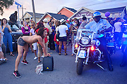April 25, 2016:<br /> <br /> Thousands of Prince fans gathered outside the Oo Poo Pah Doo Bar in the Treme neighborhood to celebrate the life of Prince with a traditional New Orleans second line memorial parade.