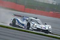 Roberto Lacorte (ITA) / Niccolo Schiro (ITA) / Giorgio Sernagiotto (ITA)  #7 Villorba Corse, Ligier JS P3, Nissan VK50VE 5.0 L V8, European Le Mans Series, Round 1, at Silverstone, Towcester, Northamptonshire, United Kingdom. April 15 2016. World Copyright Peter Taylor/PSP.