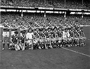 07/09/1980<br /> 09/07/1980<br /> 7 September 1980<br /> All-Ireland Hurling Final: Galway v Limerick at Croke Park, Dublin.<br /> The Limerick team.