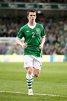 Football - UEFA Championship Qualifier - Republic of Ireland v FYR Macedonia<br /> Kevin Foley (Rep of Ireland) in action in the UEFA Championship Group B Qualifier between the Republic of Ireland and FYR Macedonia at the Aviva Stadium in Dublin.