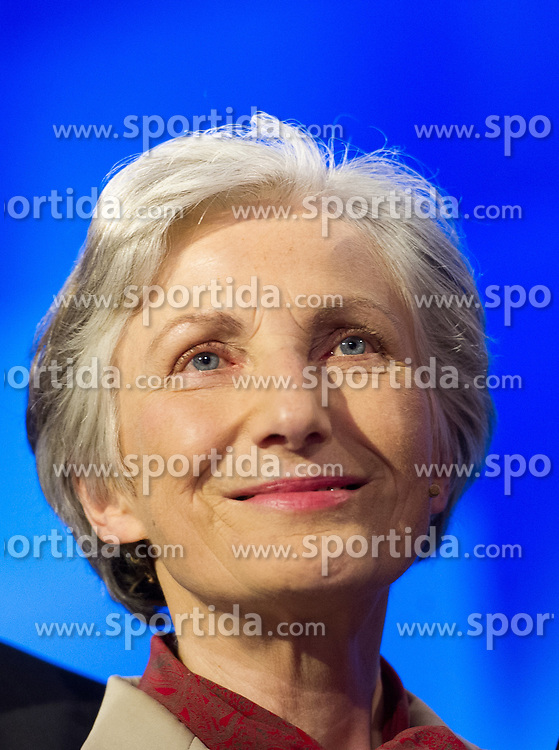 03.04.2016, Puls4 Wahlarena, Wien, AUT, Puls4 Elefantenrunde anlässlich der Präsidentschaftswahl 2016, im Bild Präsidentschaftskandidatin Irmgard Griss // Candidate for Presidential Elections Irmgard Griss before television confrontation beetwen top candidates for the austrian presidential elections in Vienna, Austria on 2016/04/03, EXPA Pictures © 2016, PhotoCredit: EXPA/ Michael Gruber