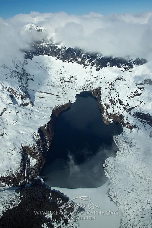 Frozen Lake, Fiordland, New Zealand