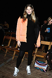 Veronika Heilbrunner (pregnant) attending the Isabel Marant show as part of the Paris Fashion Week Womenswear Fall/Winter 2018/2019 in Paris, France on March 01, 2018. Photo by Aurore Marechal/ABACAPRESS.COM
