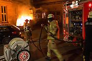 Arson container Liebigstrasse