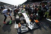 September 4, 2016: Nico Hulkenberg (GER), Force India , Italian Grand Prix at Monza