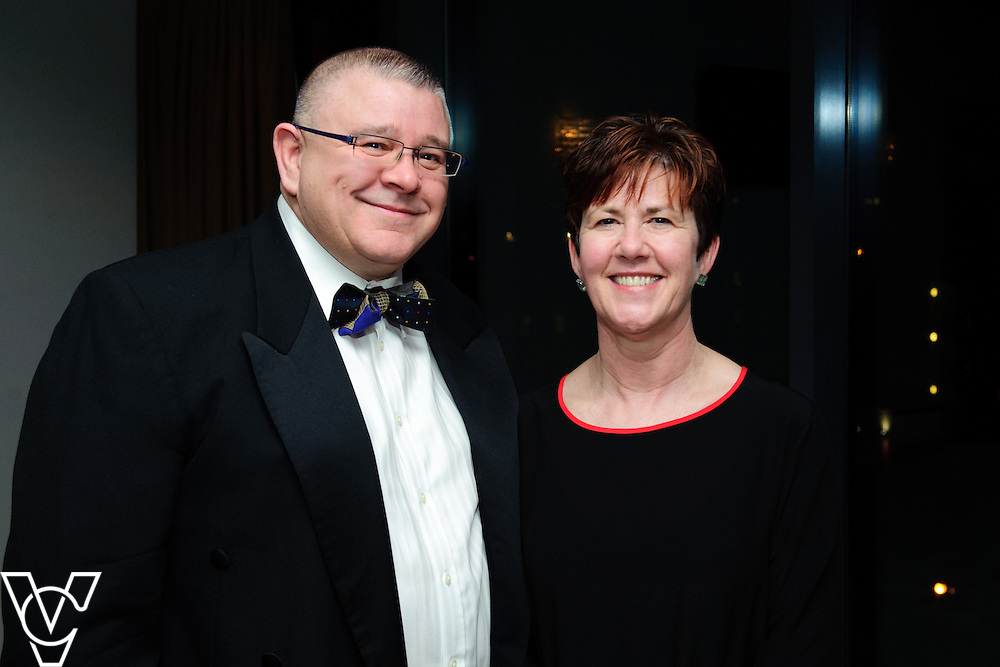 Lincoln Journal - Journal Society: <br /> <br /> Pictured, from left, Stewart Codd and Stella Louth<br /> <br /> Journal Society pictures taken at the Cake Ball held at the DoubleTree by Hilton hotel in Lincoln.<br /> <br /> Date: January 8, 2015<br /> Picture: Chris Vaughan/Chris Vaughan Photography