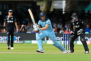 Jos Buttler of England batting during the ICC Cricket World Cup 2019 Final match between New Zealand and England at Lord's Cricket Ground, St John's Wood, United Kingdom on 14 July 2019.