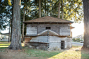 Built in 1856, Fort Yamhill sits in downtown Dayton, Oregon and was an American military fortification.