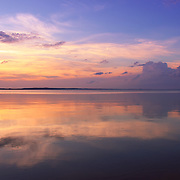 &quot;Pastel Majesty&quot;<br /> <br /> Wonderful pastel hues, clouds, and reflections at sunset!<br /> <br /> Sunset Images by Rachel Cohen