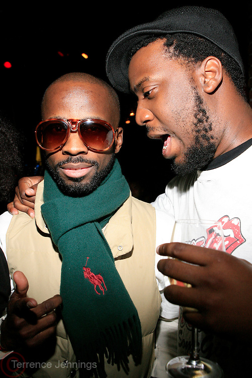 Brian Michael Cox and Robert Glasper at the Eclectic Ride Offiicial Re-launch with performances by Emily King and Bilal at Drom on May 6, 2008..Known as the premier pillar of the eclectic soul scene, The Eclectic Ride promises to supersede its legacy starting not only with this week?s headliners but within its first month featuring Dj Cassidy, Ryan Leslie, Estelle, O?Neill McKnight and many other mega-watt performers every Tuesday  throughout summer evenings and months to come.. .The ER will also integrate web 2.0 inter-activity into its mix and bring the experience to computers worldwide with live tapings of every show that can be accessed by fans via The Eclectic Ride site and iTunes to enjoy their favorite Ride performers.