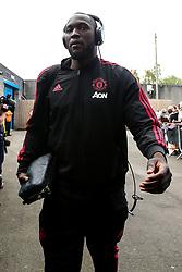 Romelu Lukaku of Manchester United arrives at Turf Moor- Mandatory by-line: Robbie Stephenson/JMP - 02/09/2018 - FOOTBALL - Turf Moor - Burnley, England - Burnley v Manchester United - Premier League