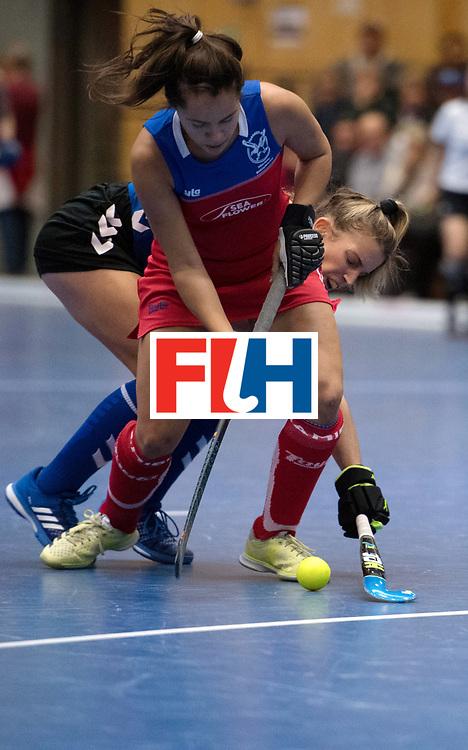 BERLIN - Indoor Hockey World Cup<br /> United States - Namibia<br /> foto: Jocelle Deysel <br /> WORLDSPORTPICS COPYRIGHT FRANK UIJLENBROEK