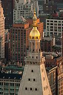 New york elevated view on Midtown  view New york - United states  Manhattan  / midtown  New york - Etats unis Manhattan vue aerienne