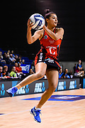 Kimiora Poi of the Tactix during the ANZ Premiership Netball match, Tactix v Steel, Horncastle Arena, Christchurch, New Zealand, 15th May 2019.Copyright photo: John Davidson / www.photosport.nz