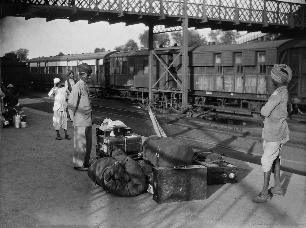 Agra Station, India, 1929