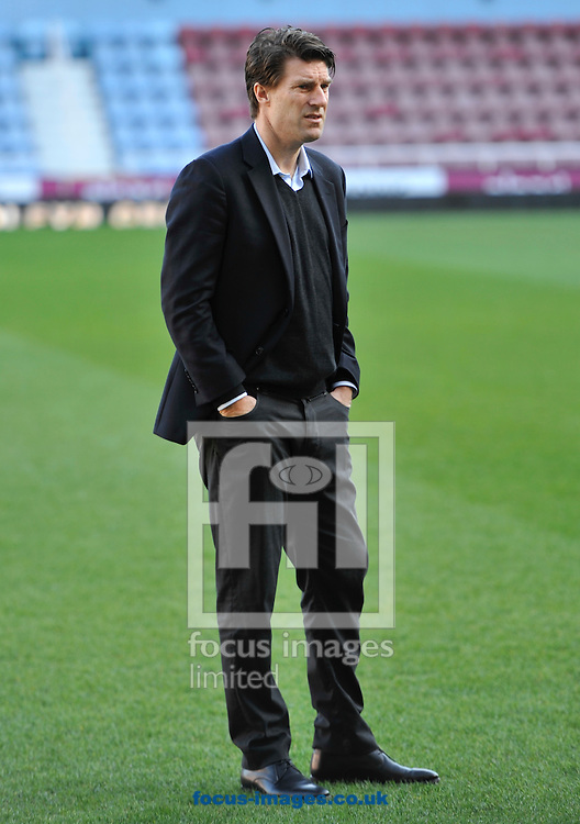 Picture by Alan Stanford/Focus Images Ltd +44 7915 056117<br /> 01/02/2014<br /> Manager Michael Laudrup of Swansea City before the Barclays Premier League match at the Boleyn Ground, London.