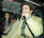 09.OCTOBER.2007. LONDON<br /> <br /> AMY WINEHOUSE ARRIVING AT HARVEY NICHOLS STORE IN, KNIGHTSBRIDGE FOR THE LAUNCH OF THE NEW RESTAURANT THE ROW DRINKING A DRINK FROM MCDONALDS CUP AT 10.00PM WHILE HUSBAND BLAKE ARRIVED AN HOUR EARLIER ON HIS OWN AT 9.00PM. BLAKE THEN LEFT VIA THE BACK DOOR WITH MODEL LILY COLE AND ANOTHER BRUNETTE LADY AT 11.30PM.<br />  BLAKE THEN ARRIVED BACK AT HARVEY NICKS ON HIS OWN AT 12.30PM AND THEN ARRIVED HOME WITH A VERY DRUNK LOOKING AMY AT 2.30PM WITH AMY CHANGING CLOTHES ON THE WAY HOME. <br /> <br /> BYLINE: EDBIMAGEARCHIVE.CO.UK<br /> <br /> *THIS IMAGE IS STRICTLY FOR UK NEWSPAPERS AND MAGAZINES ONLY*<br /> *FOR WORLD WIDE SALES AND WEB USE PLEASE CONTACT EDBIMAGEARCHIVE - 0208 954 5968*