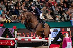 LYNCH Denis (IRL), Gun Powder<br /> Leipzig - Partner Pferd 2019<br /> IDEE Kaffe Preis<br /> CSI5*<br /> 18. Januar 2019<br /> © www.sportfotos-lafrentz.de/Stefan Lafrentz