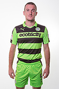 Forest Green Rovers Lee Collins(5) during the Forest Green Rovers Photocall at the New Lawn, Forest Green, United Kingdom on 31 July 2017. Photo by Shane Healey.