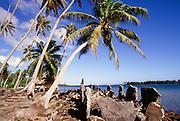 Marae (temple), Huahine, French Polynesia