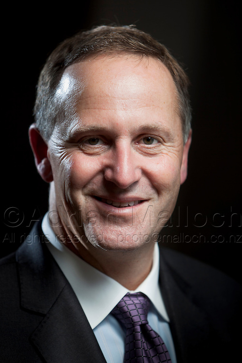Prime Minister John Key, photographed in his Parnell home.