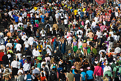 California: San Francisco Bay to Breakers annual foot race. Photo copyright Lee Foster. Photo # 31-casanf80808