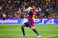 Dani ALVES - 21.04.2015 - Barcelone / Paris Saint Germain - 1/4Finale Retour Champions League<br />