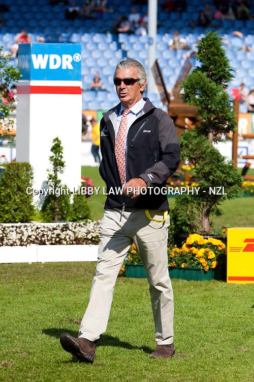 ESNZ High Performance Squad Showjumping Coach: Luis Alvarez Cervera (ESP) 2012 GER-CHIO Aachen Weltfest des Pferdesports (Friday) - DHL Preis CICO*** Eventing Showjumping:
