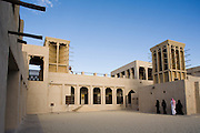 Bur Dubai. Sheik Saeed al-Maktoum House, former residency of the ruling family and now a museum about life in old Dubai.