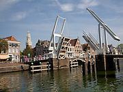 Gravestenenbrug bridge, Haarlem, Holland