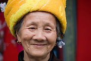 Woman from Zhuang Minority Group, Ping An, near Guilin, China