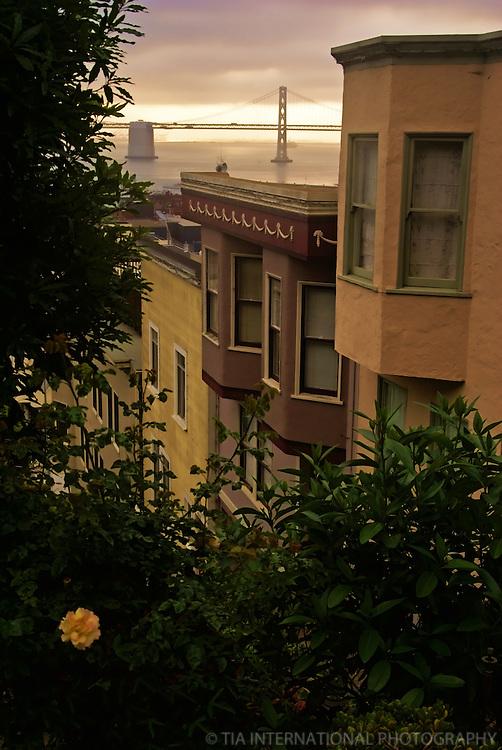 Bay Bridge & Row Houses