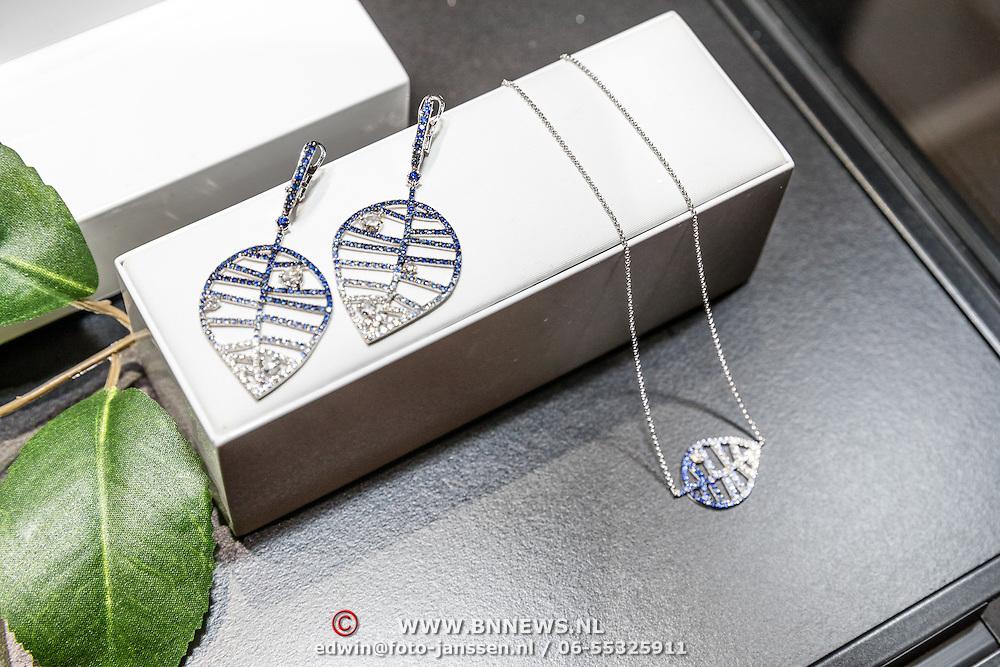 NLD/Waalre/20170130 - Lancering nieuwe juwelenlijn Leaves Dewdrops van Prinses Margarita , Leaves juwelen
