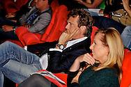 BUSSUM - In theater het Spant is de persviewing van The Voice Of Holland gehouden.  Met op de foto het meesterbrein achter The Voice Of Holland John de Mol jr. FOTO LEVIN DEN BOER - PERSFOTO.NU