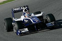 26.02.2010, Circuit de Catalunya, Barcelona, ESP, Formel 1 Tests, im Bild Nico Hulkenberg - AT&T Williams F1 team, EXPA Pictures © 2010, PhotoCredit: EXPA/ InsideFoto/ Semedia / SPORTIDA PHOTO AGENCY