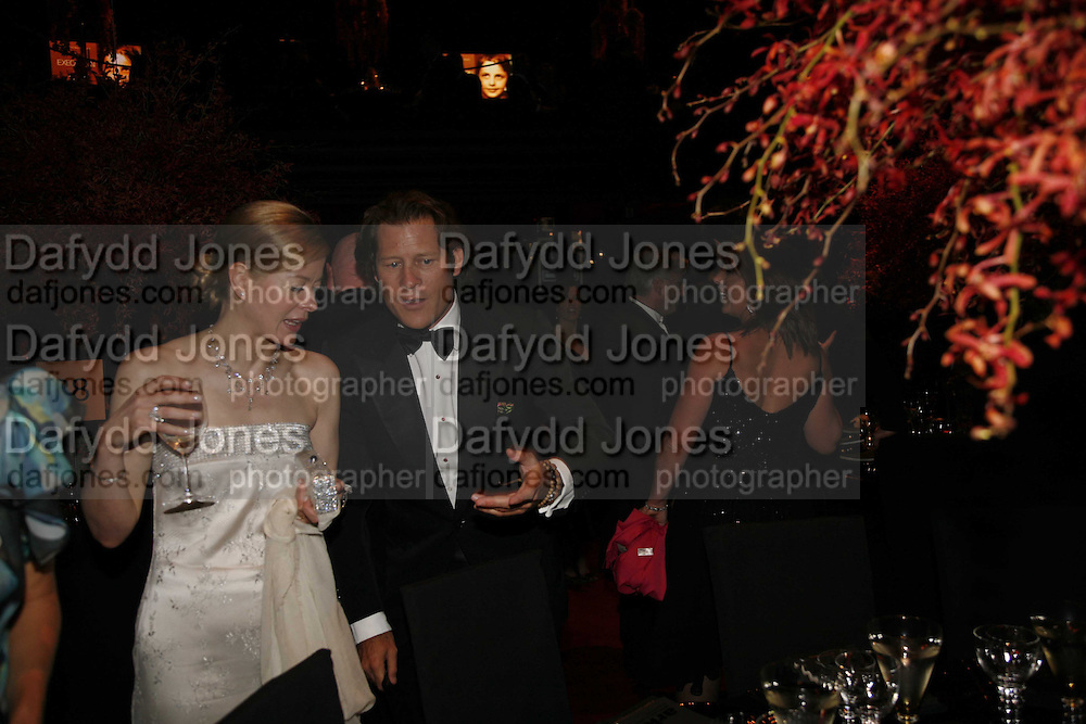 Lady helen Taylor and Arpad Busson, Ark Gala Dinner, Marlborough House, London. 5 May 2006. ONE TIME USE ONLY - DO NOT ARCHIVE  © Copyright Photograph by Dafydd Jones 66 Stockwell Park Rd. London SW9 0DA Tel 020 7733 0108 www.dafjones.com