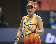 Belinda Bencic (SUI) on Day Three of the WTA Generali Ladies Linz Open at TipsArena, Linz<br /> Picture by EXPA Pictures/Focus Images Ltd 07814482222<br /> 12/10/2016<br /> *** UK & IRELAND ONLY ***<br /> <br /> EXPA-REI-161012-5017.jpg