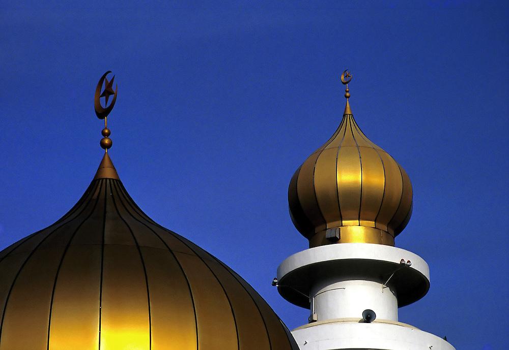 Dome, Penang State Mosque, Penang, Malaysia...Photo credit : ©Ahmad Yusni.