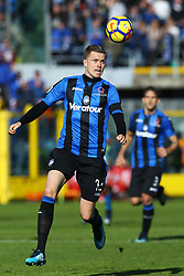 January 21, 2018 - Bergamo, Italy - Josip Ilicic of Atalanta  during the Italian Serie A football match Atalanta Vs Napoli on January 21, 2018 at the 'Atleti Azzurri d'Italia Stadium' in Bergamo. (Credit Image: © Matteo Ciambelli/NurPhoto via ZUMA Press)