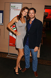MISS HENRIETTA DUPS and MR HUGH HOWARD at a party to celebrate 'Made in Italy at Harrods' - a celebration of Italian fashion food and wine, design and interiors, art and photography, cinema and music, beauty and glamour.  The party was held in the Georgian Restaurant at Harrods, Knightsbridge, London on 9th September 2004.<br /><br />PICTURES LICENCED UNTIL 9/3/2004 FOR USE TO PROMOTE THE 'MADE IN ITALY' EVENT/S ONLY.