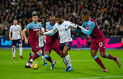 LONDON, ENGLAND - Wednesday, January 29, 2020: Liverpool's Georginio Wijnaldum during the FA Premier League match between West Ham United FC and Liverpool FC at the London Stadium. (Pic by David Rawcliffe/Propaganda)