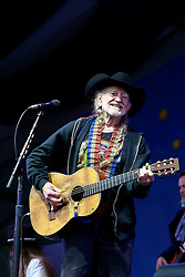 03 May 2013. New Orleans, Louisiana,  USA. .New Orleans Jazz and Heritage Festival. .Willie Nelson plays the Gentilly stage..Photo; Charlie Varley.