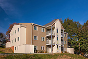 Exterior Image of the Terrace and Hillside apartments  at UMBC by Jeffrey Sauers of Commercial Photographics