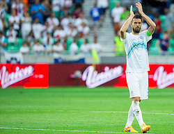 Bostjan Cesar of Slovenia after the EURO 2016 Qualifier Group E match between Slovenia and England at SRC Stozice on June 14, 2015 in Ljubljana, Slovenia. Photo by Vid Ponikvar / Sportida