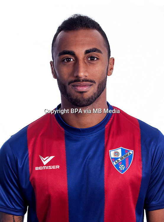 Spain - La Liga B 123 _ 2016-2017 / <br /> ( S.D. Huesca ) - <br /> Carlos Akapo Mart&iacute;nez &quot; Carlos Akapo &quot;