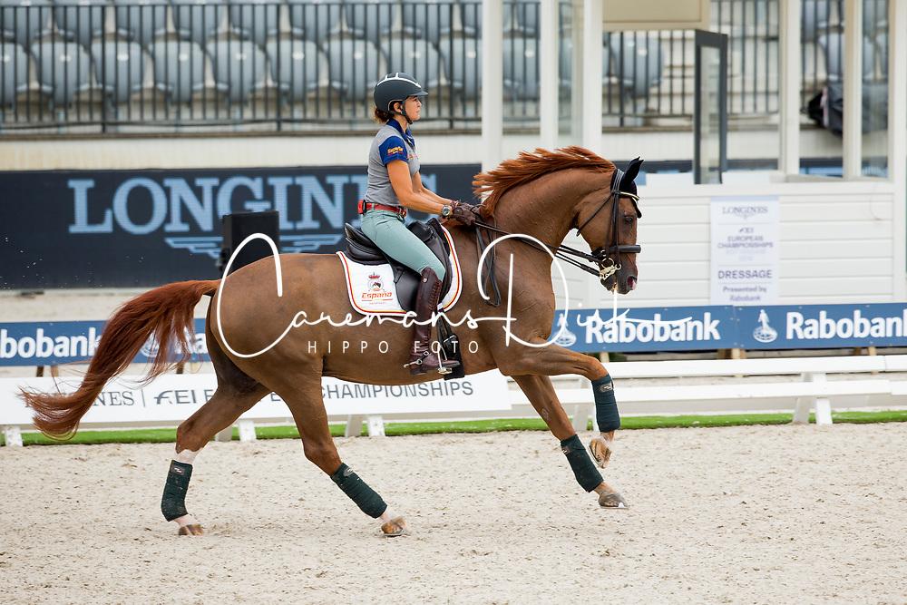 Ferrer-Salat Beatriz, ESP, Delgado<br /> EC Rotterdam 2019<br /> © Hippo Foto - Sharon Vandeput<br /> 18/08/19