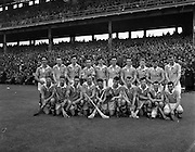 All Ireland Minor Hurling Championship - Semi Final, .Dublin v Antrim,. Dublin Team (winners),.01.08.1954, 08.01.1954, 1st August 1954,