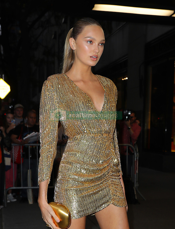 September 6, 2019, New York, New York, United States: September 5, 2019 New York City..Romee Strijd attending The Daily Front Row Fashion Media Awards on September 5, 2019 in New York City  (Credit Image: © Jo Robins/Ace Pictures via ZUMA Press)